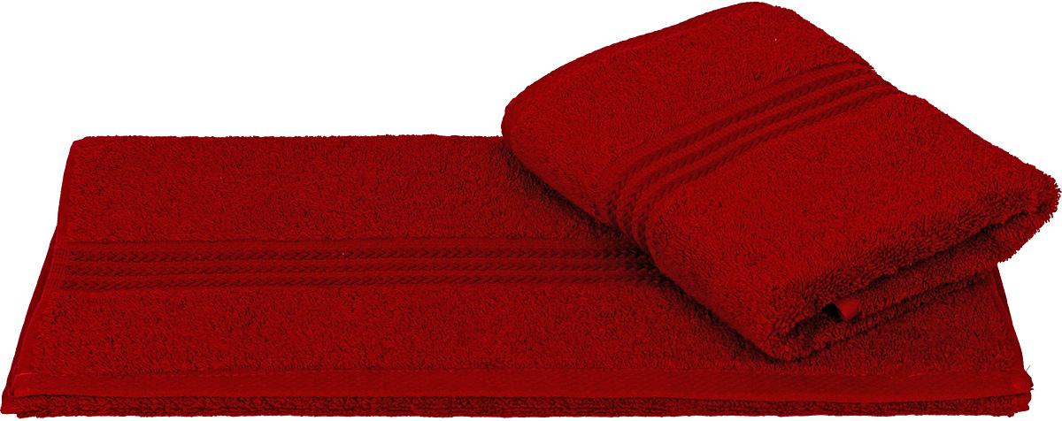 Полотенце Hobby Home Collection Rainbow, цвет: бордовый, 50 х 90 см68/5/3Полотенце Hobby Home Collection Rainbow выполнено из 100% хлопка. Изделие отлично впитывает влагу, быстро сохнет, сохраняет яркость цвета и не теряет форму даже после многократных стирок. Такое полотенце очень практично и неприхотливо в уходе. А простой, но стильный дизайн полотенца позволит ему вписаться даже в классический интерьер ванной комнаты.