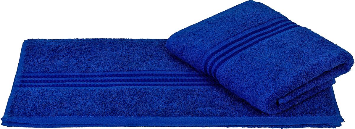 Полотенце Hobby Home Collection Rainbow, цвет: синий, 50 х 90 см787502Полотенце Hobby Home Collection Rainbow выполнено из 100% хлопка. Изделие отлично впитывает влагу, быстро сохнет, сохраняет яркость цвета и не теряет форму даже после многократных стирок. Такое полотенце очень практично и неприхотливо в уходе. А простой, но стильный дизайн полотенца позволит ему вписаться даже в классический интерьер ванной комнаты.