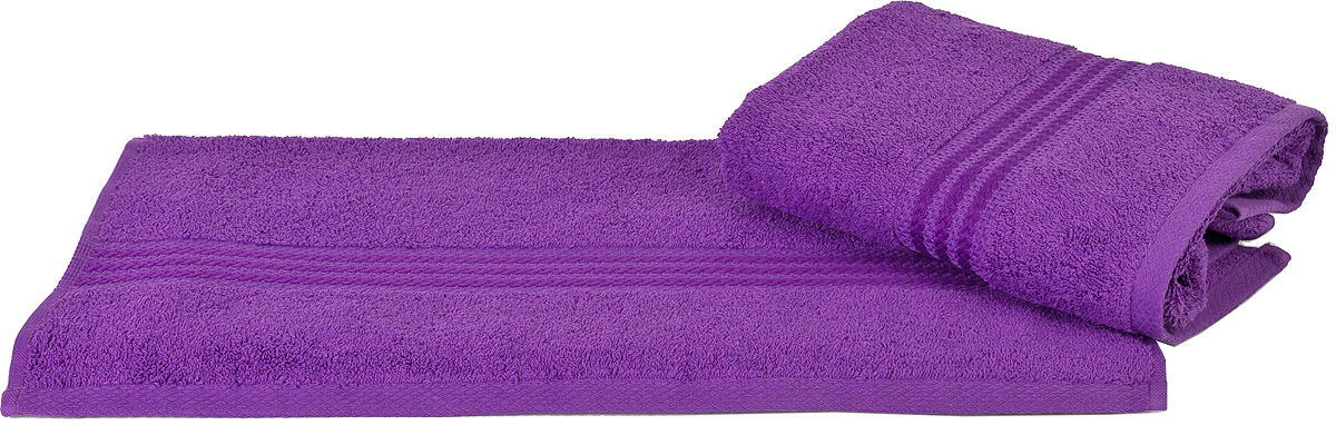 Полотенце Hobby Home Collection Rainbow, цвет: темно-лиловый, 50 х 90 смC0042416Полотенце Hobby Home Collection Rainbow выполнено из 100% хлопка. Изделие отлично впитывает влагу, быстро сохнет, сохраняет яркость цвета и не теряет форму даже после многократных стирок. Такое полотенце очень практично и неприхотливо в уходе. А простой, но стильный дизайн полотенца позволит ему вписаться даже в классический интерьер ванной комнаты.