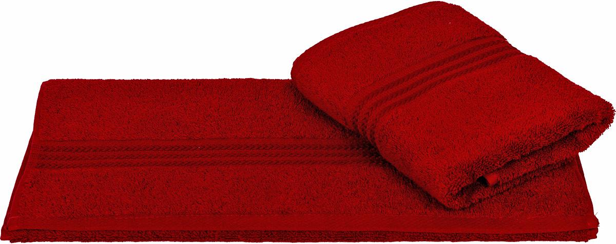 Полотенце Hobby Home Collection Rainbow, цвет: бордовый, 70 х 140 см1004900000360Полотенце Hobby Home Collection Rainbow выполнено из 100% хлопка. Изделие отлично впитывает влагу, быстро сохнет, сохраняет яркость цвета и не теряет форму даже после многократных стирок. Такое полотенце очень практично и неприхотливо в уходе. А простой, но стильный дизайн полотенца позволит ему вписаться даже в классический интерьер ванной комнаты.