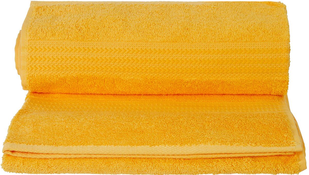 Полотенце Hobby Home Collection Rainbow, цвет: темно-желтый, 70 х 140 см68/5/3Полотенце Hobby Home Collection Rainbow выполнено из 100% хлопка. Изделие отлично впитывает влагу, быстро сохнет, сохраняет яркость цвета и не теряет форму даже после многократных стирок. Такое полотенце очень практично и неприхотливо в уходе. А простой, но стильный дизайн полотенца позволит ему вписаться даже в классический интерьер ванной комнаты.