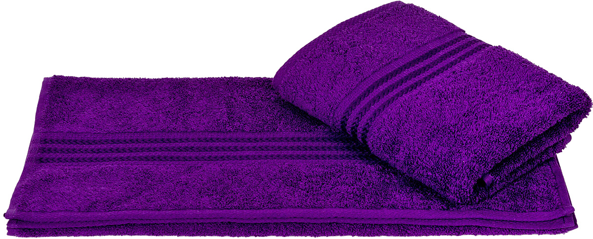 Полотенце Hobby Home Collection Rainbow, цвет: фиолетовый, 70 х 140 см19201Полотенце Hobby Home Collection Rainbow выполнено из 100% хлопка. Изделие отлично впитывает влагу, быстро сохнет, сохраняет яркость цвета и не теряет форму даже после многократных стирок. Такое полотенце очень практично и неприхотливо в уходе. А простой, но стильный дизайн полотенца позволит ему вписаться даже в классический интерьер ванной комнаты.
