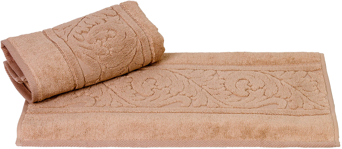 Полотенце Hobby Home Collection Sultan, цвет: бежевый, 70 х 140 см391602Полотенце Hobby Home Collection Sultan выполнено из 100% хлопка. Изделие отлично впитывает влагу, быстро сохнет, сохраняет яркость цвета и не теряет форму даже после многократных стирок. Такое полотенце очень практично и неприхотливо в уходе. А простой, но стильный дизайн полотенца позволит ему вписаться даже в классический интерьер ванной комнаты.
