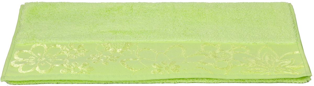 Полотенце Hobby Home Collection Dora, цвет: зеленый, 30 х 50 смS03301004Полотенце Hobby Home Collection Dora выполнено из 100% хлопка. Изделие отлично впитывает влагу, быстро сохнет, сохраняет яркость цвета и не теряет форму даже после многократных стирок. Такое полотенце очень практично и неприхотливо в уходе. А простой, но стильный дизайн полотенца позволит ему вписаться даже в классический интерьер ванной комнаты.