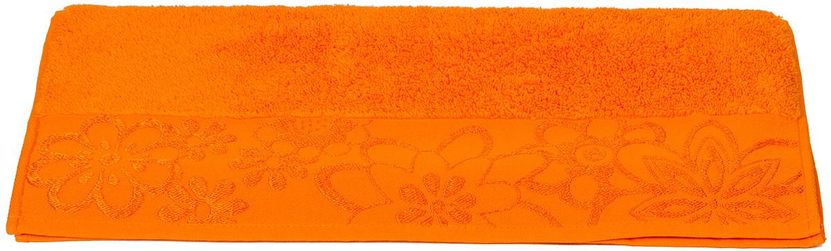 Полотенце Hobby Home Collection Dora, цвет: оранжевый, 30 х 50 см12723Полотенце Hobby Home Collection Dora выполнено из 100% хлопка. Изделие отлично впитывает влагу, быстро сохнет, сохраняет яркость цвета и не теряет форму даже после многократных стирок. Такое полотенце очень практично и неприхотливо в уходе. А простой, но стильный дизайн полотенца позволит ему вписаться даже в классический интерьер ванной комнаты.