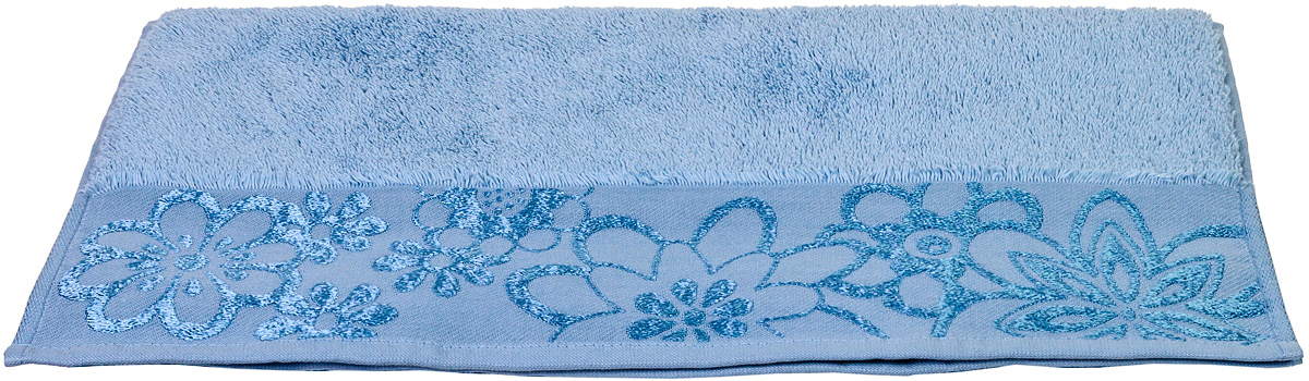 Полотенце Hobby Home Collection Dora, цвет: светло-голубой, 30 х 50 см68/5/3Полотенце Hobby Home Collection Dora выполнено из 100% хлопка. Изделие отлично впитывает влагу, быстро сохнет, сохраняет яркость цвета и не теряет форму даже после многократных стирок. Такое полотенце очень практично и неприхотливо в уходе. А простой, но стильный дизайн полотенца позволит ему вписаться даже в классический интерьер ванной комнаты.