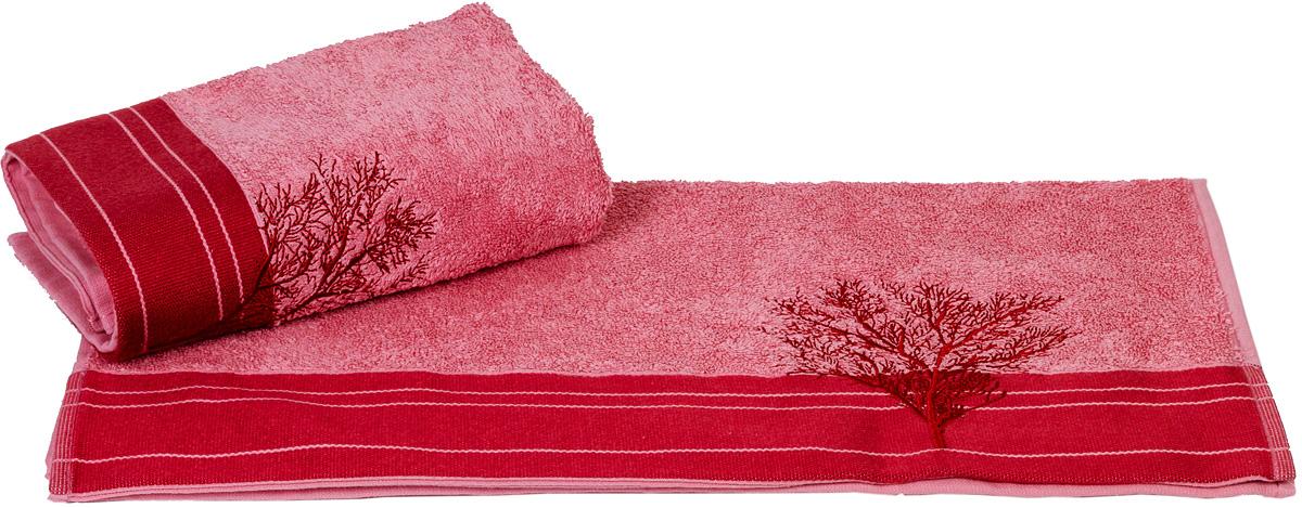 Полотенце Hobby Home Collection Infinity, цвет: светло-розовый, 50 х 90 см68/5/3Полотенце Hobby Home Collection Infinity выполнено из 100% хлопка. Изделие отлично впитывает влагу, быстро сохнет, сохраняет яркость цвета и не теряет форму даже после многократных стирок. Такое полотенце очень практично и неприхотливо в уходе. А простой, но стильный дизайн полотенца позволит ему вписаться даже в классический интерьер ванной комнаты.
