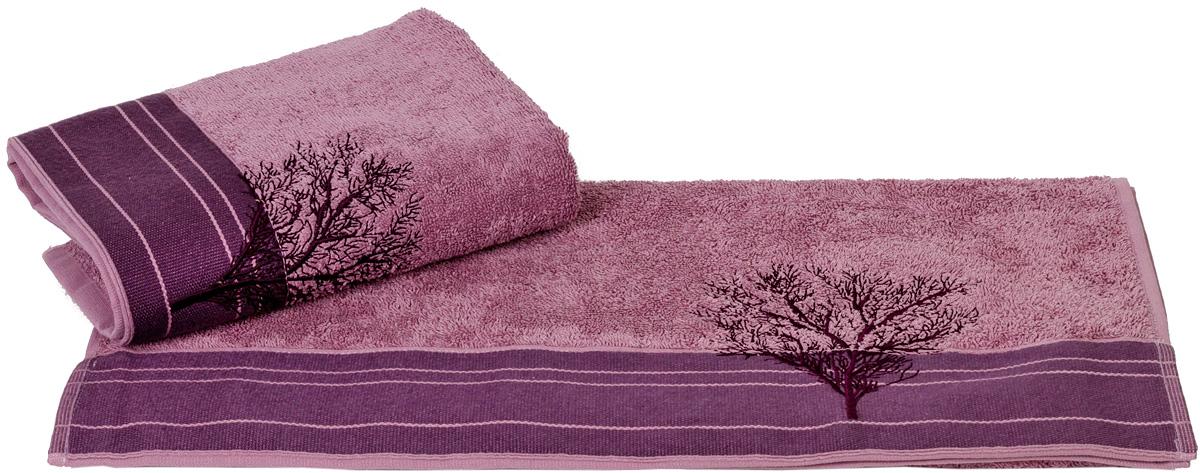 Полотенце Hobby Home Collection Infinity, цвет: фиолетовый, 50 х 90 смS03301004Полотенце Hobby Home Collection Infinity выполнено из 100% хлопка. Изделие отлично впитывает влагу, быстро сохнет, сохраняет яркость цвета и не теряет форму даже после многократных стирок. Такое полотенце очень практично и неприхотливо в уходе. А простой, но стильный дизайн полотенца позволит ему вписаться даже в классический интерьер ванной комнаты.