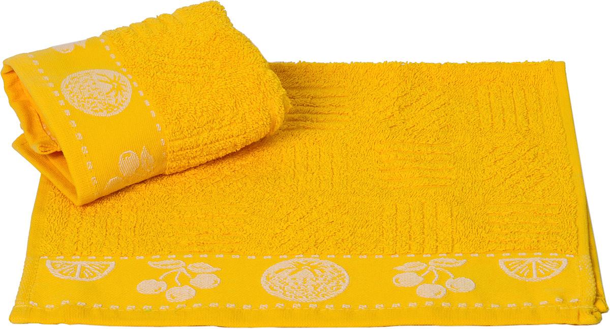 Полотенце кухонное Hobby Home Collection Meyve Bahcesi, цвет: желтый, 30 х 50 смVT-1520(SR)Кухонное полотенце Hobby Home Collection Meyve Bahcesi выполнено из высококачественного 100% хлопка и предназначено для использования на кухне или в столовой. Такое полотенце станет отличным вариантом для практичной и современной хозяйки.