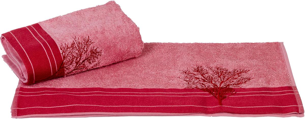 Полотенце Hobby Home Collection Infinity, цвет: светло-розовый, 70 х 140 см1004900000360Полотенце Hobby Home Collection Infinity выполнено из 100% хлопка. Изделие отлично впитывает влагу, быстро сохнет, сохраняет яркость цвета и не теряет форму даже после многократных стирок. Такое полотенце очень практично и неприхотливо в уходе. А простой, но стильный дизайн полотенца позволит ему вписаться даже в классический интерьер ванной комнаты.