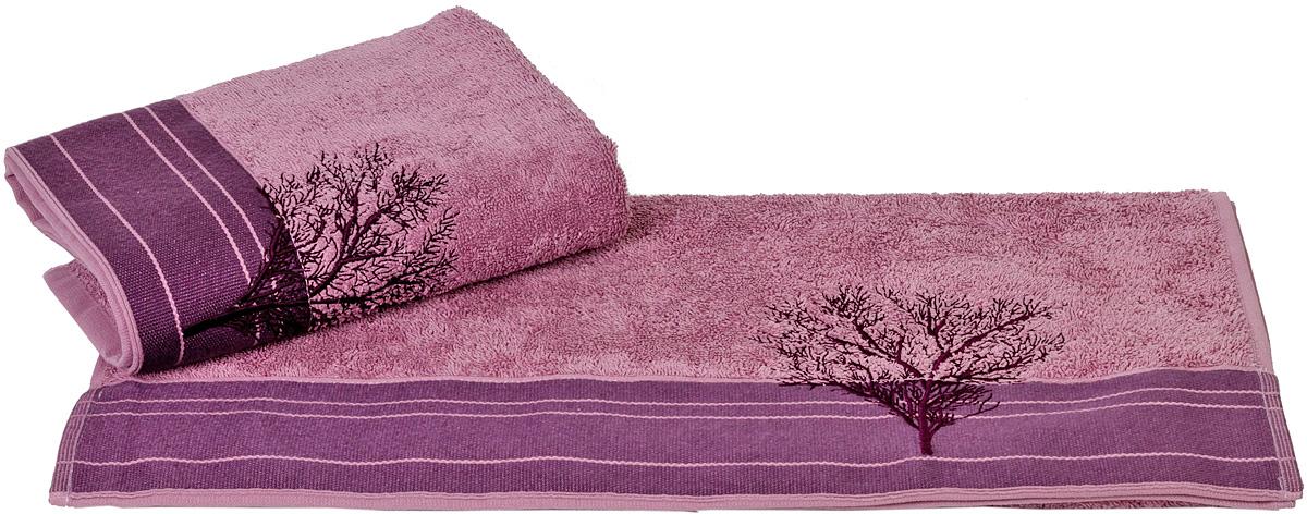 Полотенце Hobby Home Collection Infinity, цвет: фиолетовый, 70 х 140 смS03301004Полотенце Hobby Home Collection Infinity выполнено из 100% хлопка. Изделие отлично впитывает влагу, быстро сохнет, сохраняет яркость цвета и не теряет форму даже после многократных стирок. Такое полотенце очень практично и неприхотливо в уходе. А простой, но стильный дизайн полотенца позволит ему вписаться даже в классический интерьер ванной комнаты.