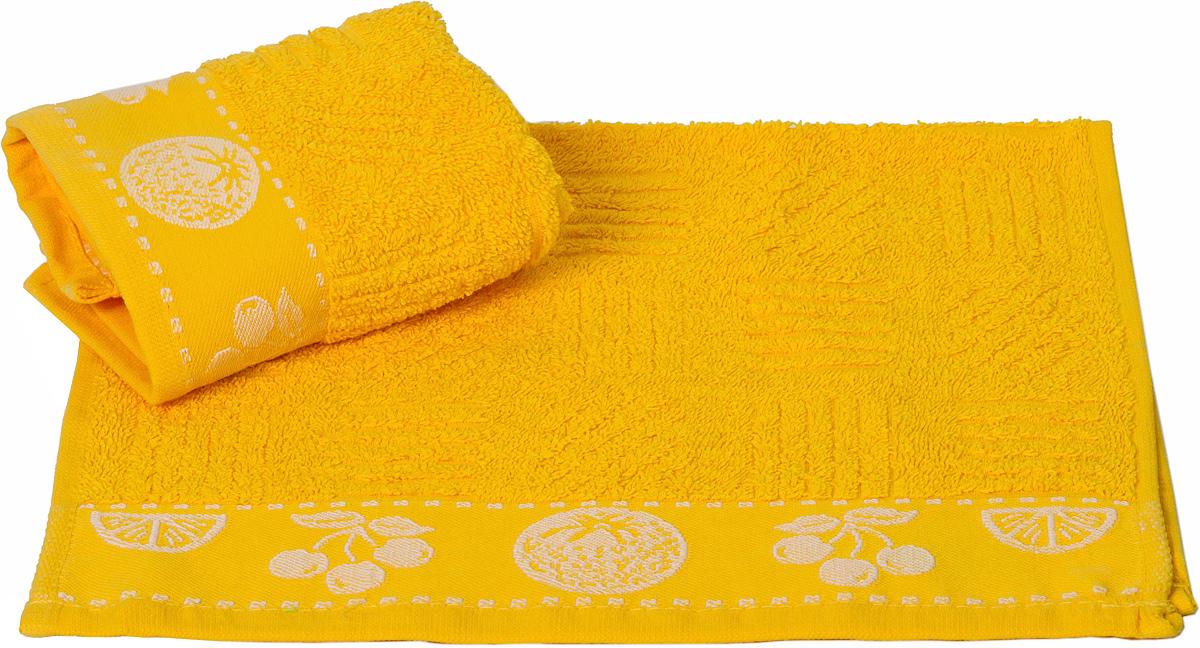 Полотенце кухонное Hobby Home Collection Meyve Bahcesi, цвет: желтый, 30 х 30 см07597-100Кухонное полотенце Hobby Home Collection Meyve Bahcesi выполнено из высококачественного 100% хлопка и предназначено для использования на кухне или в столовой. Такое полотенце станет отличным вариантом для практичной и современной хозяйки.
