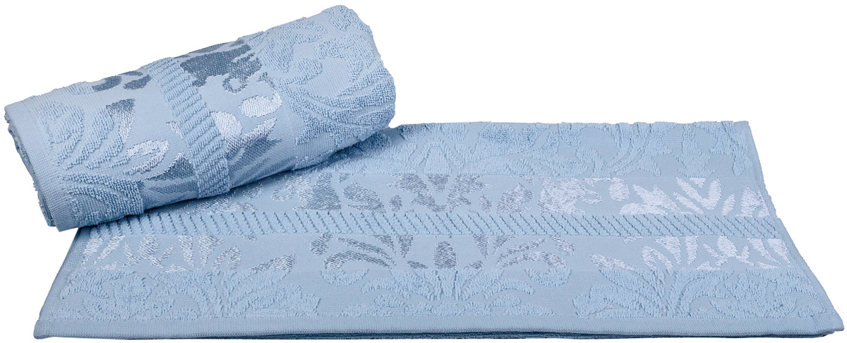 Полотенце Hobby Home Collection Versal, цвет: голубой, 50 х 90 см531-105Полотенце Hobby Home Collection Versal выполнено из 100% хлопка. Изделие отлично впитывает влагу, быстро сохнет, сохраняет яркость цвета и не теряет форму даже после многократных стирок. Такое полотенце очень практично и неприхотливо в уходе. А простой, но стильный дизайн полотенца позволит ему вписаться даже в классический интерьер ванной комнаты.