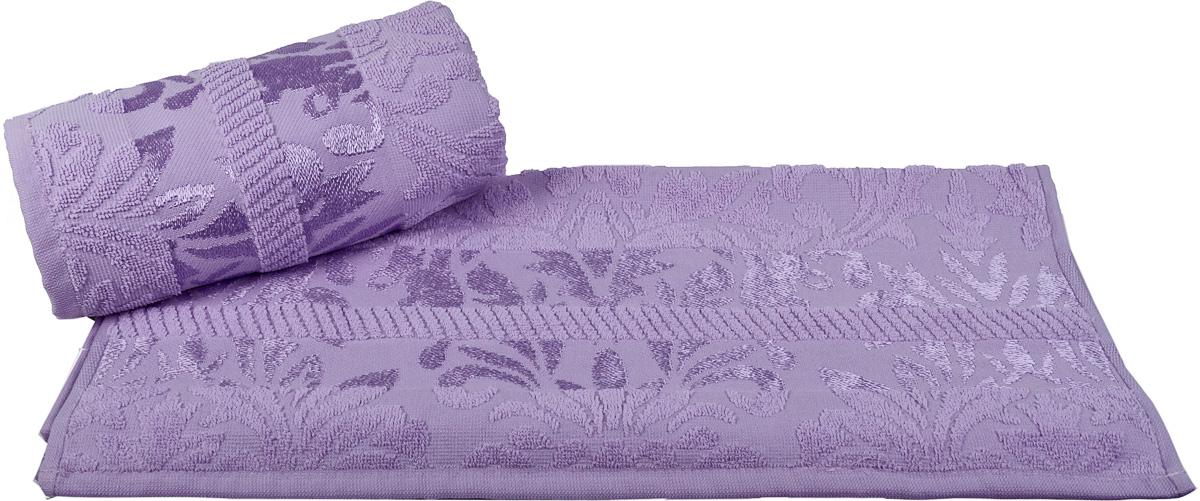 Полотенце Hobby Home Collection Versal, цвет: лиловый, 50 х 90 смS03301004Полотенце Hobby Home Collection Versal выполнено из 100% хлопка. Изделие отлично впитывает влагу, быстро сохнет, сохраняет яркость цвета и не теряет форму даже после многократных стирок. Такое полотенце очень практично и неприхотливо в уходе. А простой, но стильный дизайн полотенца позволит ему вписаться даже в классический интерьер ванной комнаты.