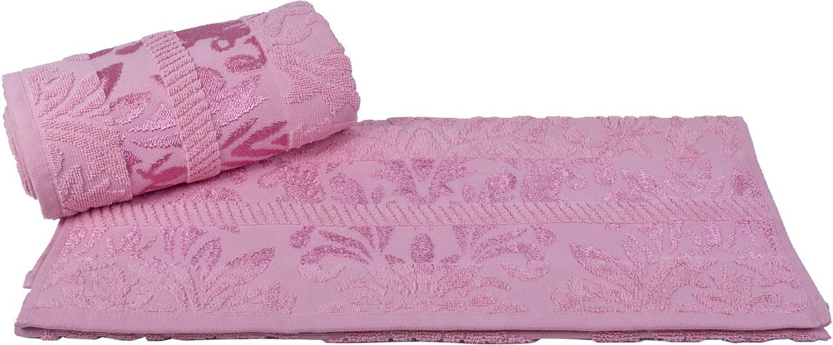 Полотенце Hobby Home Collection Versal, цвет: розовый, 70 х 140 см68/5/4Полотенце Hobby Home Collection Versal выполнено из 100% хлопка. Изделие отлично впитывает влагу, быстро сохнет, сохраняет яркость цвета и не теряет форму даже после многократных стирок. Такое полотенце очень практично и неприхотливо в уходе. А простой, но стильный дизайн полотенца позволит ему вписаться даже в классический интерьер ванной комнаты.