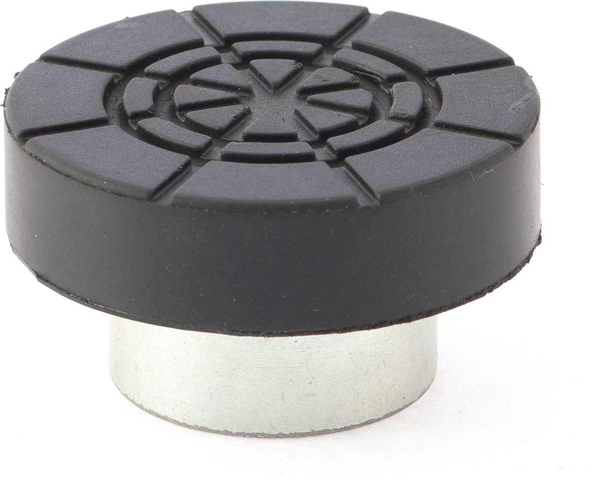 Адаптер Matrix, для бутылочных домкратов, диаметрр штока 2,8 см50905Адаптер Matrix, выполненный из высококачественной стали, снабжен резиновой вставкой. Предназначен для домкратов бутылочного типа. Адаптер осуществляет безопасный подъем автомобиля без риска его повреждения.Диаметр штока: 2,8 см.Диаметр Адаптера: 5,5 см.Высота адаптера: 3 см.