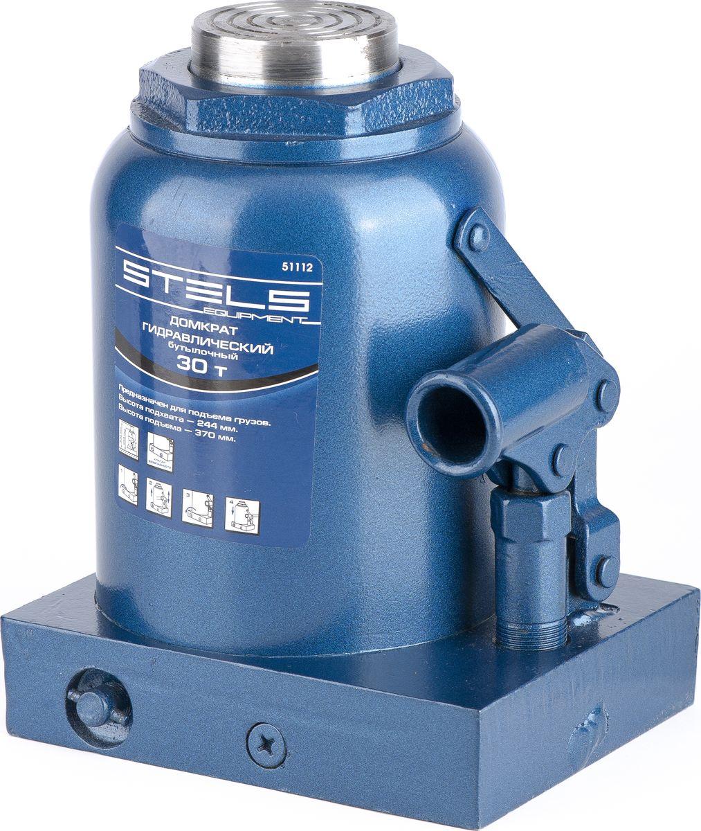 Домкрат гидравлический бутылочный Stels, 30 т, высота подъема 244–370 мм72/14/7Гидравлический домкрат STELS с клапаном безопасности предназначен для подъема груза массой до 30 тонн. Домкрат является незаменимым инструментом в автосервисе, часто используется при проведении ремонтно-строительных работ. Минимальная высота подхвата домкрата STELS составляет 24,4 см. Максимальная высота, на которую домкрат может поднять груз, составляет 37 см. Этой высоты достаточно для установки жесткой опоры под поднятый груз и проведения ремонтных работ. Клапан безопасности предотвращает подъем груза, масса которого превышает массу заявленную производителем. Также домкрат оснащен магнитным собирателем, исключающим наличие стружки в масле цилиндра, что значительно сокращает риск поломки домкрата. Основание сделано из стали. ВНИМАНИЕ! Домкрат не предназначен для длительного поддерживания груза на весу либо для его перемещения. Перед подъемом убедитесь, что груз распределен равномерно по центру опорной поверхности домкрата. Масса поднимаемого груза не должна превышать массу, указанную производителем. Домкрат во время работы должен быть установлен на горизонтальной ровной и твердой поверхности. После поднятия груза необходимо использовать специальные стойки-подставки для его поддерживания. Запрещается производить любого вида работы под поднятым грузом при отсутствии поддерживающих его подставок. Перед началом работы ознакомьтесь с инструкцией по эксплуатации изделия.