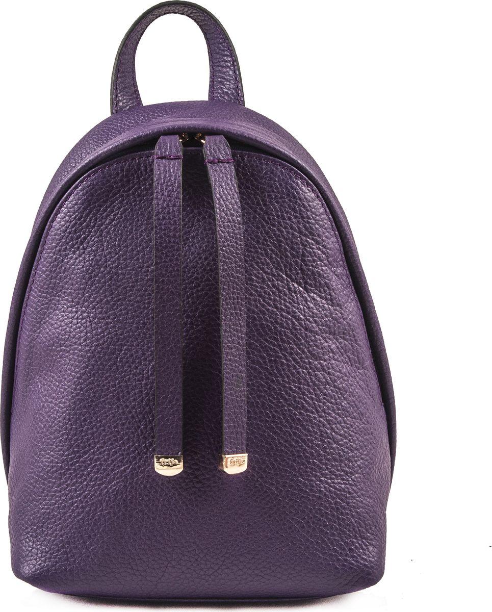 Рюкзак женский Frija, цвет: фиолетовый. 21-0347-16INT-06501Модный рюкзак выполнен из натуральной кожи достойно дополнит строгий или повседневный образ. Благородные цвета, удобство в ношении, вместительность – главные преимущества модели. Имеется один вместительный отдел, внутри которого карман на молнии. Рюкзак закрывается закрывается на двустороннюю молнию, носится в руке или одевается на плечи. Хорошо держит форму.