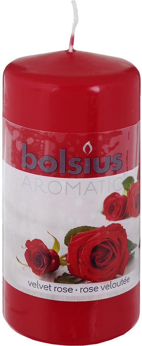 Свеча ароматическая Bolsius Роза, 6 х 6 х 11,5 смБрелок для ключейСвеча ароматическая Bolsius Роза создаст в доме атмосферу тепла и уюта. Свеча приятно смотрится в интерьере, она безопасна и удобна в использовании. Свеча создаст приятное мерцание, а сладкий манящий аромат окутает вас и подарит приятные ощущения.