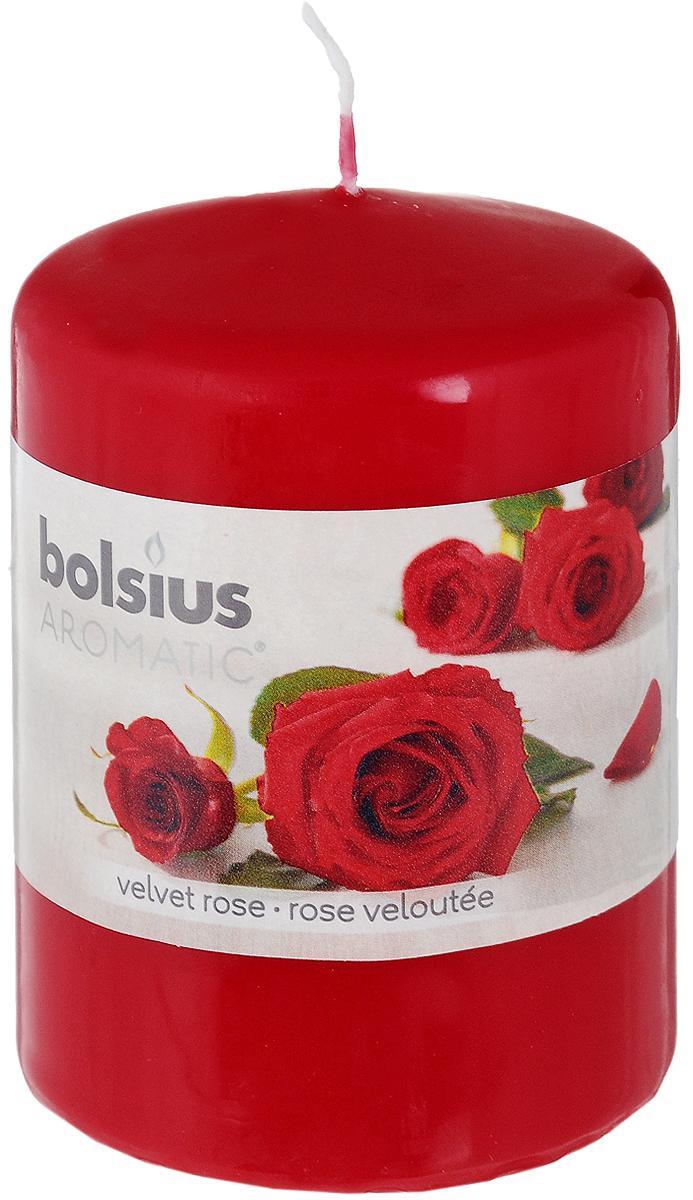 Свеча ароматическая Bolsius Роза, 6 х 6 х 7,3 см bolsius свеча ароматическая в стакане пряность 80х70