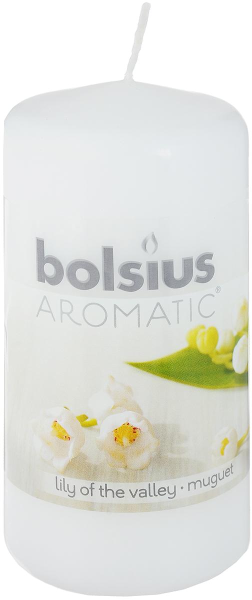 Свеча ароматическая Bolsius Ландыш, 6 х 6 х 11,5 см9645140Свеча ароматическая Bolsius Ландыш создаст в доме атмосферу тепла и уюта. Свеча приятно смотрится в интерьере, она безопасна и удобна в использовании. Свеча создаст приятное мерцание, а сладкий манящий аромат окутает вас и подарит приятные ощущения.
