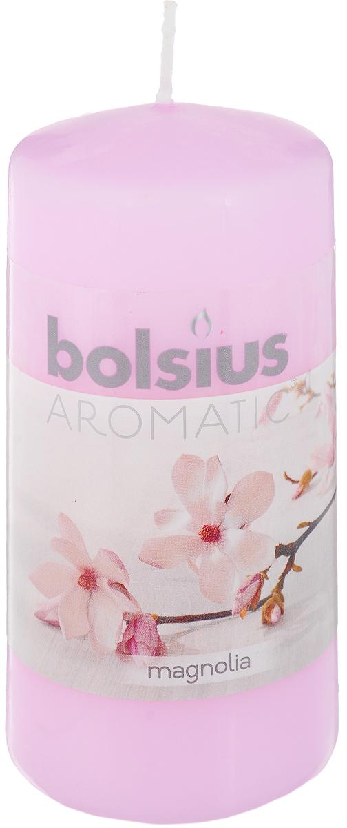 Свеча ароматическая Bolsius Магнолия, 6 х 6 х 11,5 см41619Свеча ароматическая Bolsius Магнолия создаст в доме атмосферу тепла и уюта. Свеча приятно смотрится в интерьере, она безопасна и удобна в использовании. Свеча создаст приятное мерцание, а сладкий манящий аромат окутает вас и подарит приятные ощущения.