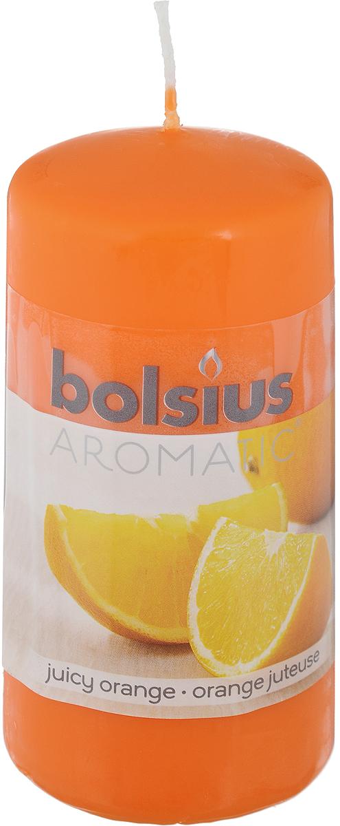 Свеча ароматическая Bolsius Апельсин, 6 х 6 х 11,5 см bolsius свеча ароматическая в стакане пряность 80х70