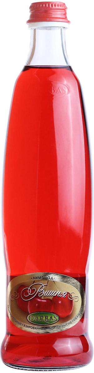 Darbas Вишня лимонад, 0,5 л0120710Безалкогольный газированный напиток. Насыщенный вкус спелой вишни.