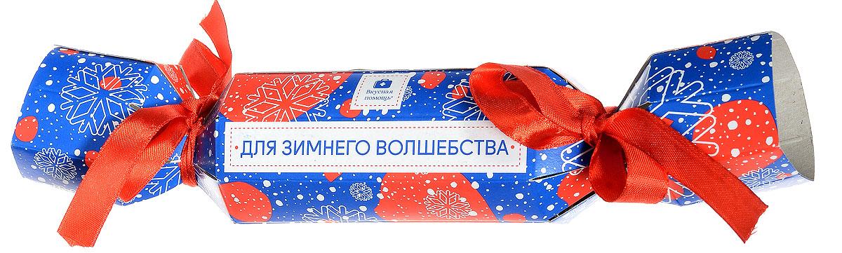 Набор Вкусная помощь С Новым годом, 2 х 50 мл0120710Выбирая этот наборчик, вы попадете в точку с вероятностью 100% – праздничная упаковка в виде конфеты, внутри которой спрятаны две маленькие баночки с мармеладом выглядит очень эффектно. Такой хороший подарок придется по вкусу как детям, так и взрослым.Только взгляните на наш новый праздничный дизайн! Такая упаковка сразу же поднимет настроение, а сладости в баночке моментально погрузит вас в атмосферу Нового года.Что внутри? Две баночки по 50 мл:Мармелад жевательный БананыМармелад жевательный Спагетти Клубника в сахаре