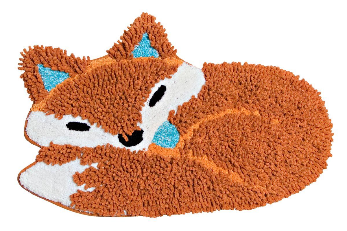 Коврик прикроватный Arloni Лиса, цвет: коричнево-красный, 50 х 80 смFS-91909Коврик Arloni имеет оригинальный дизайн в виде спящей лисы, он необычайно мягкий и очень приятный на ощупь.Коврик имеет ворс двух видов - длинный и короткий. Благодаря своему составу из 100% хлопка, он обладает гипоаллергенными свойствами, экологичен и очень удобен в использовании и в уходе.Коврик долго прослужит в вашем доме, добавляя тепло и уют, а также внесет неповторимый колорит в интерьер любой комнаты. Можно стирать в машинке.