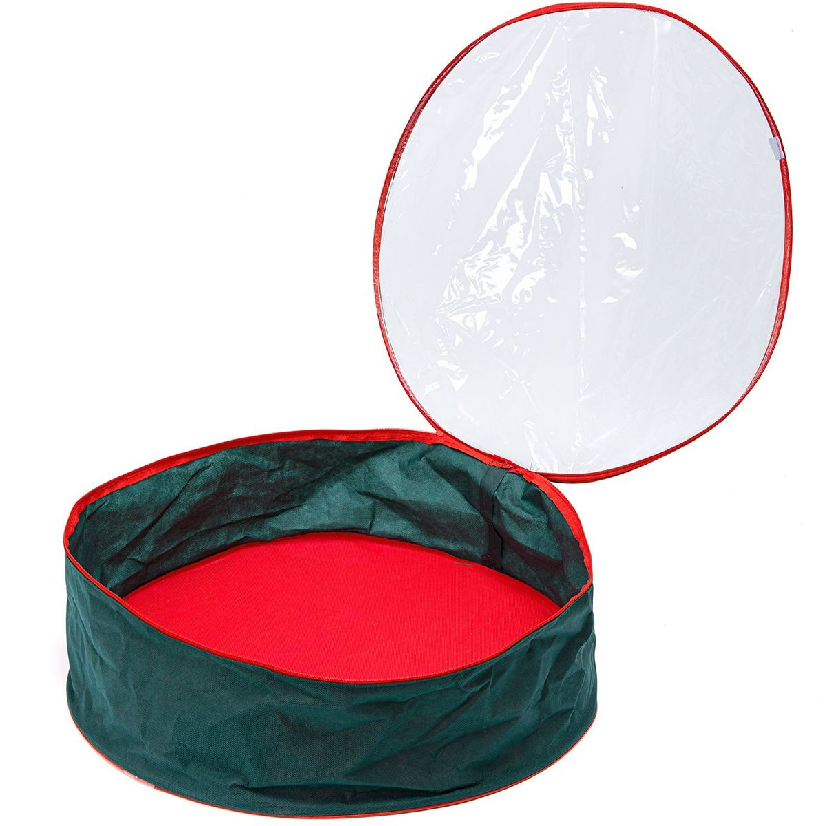 Кофр для хранения вещей Homsu New Year, плоский, цвет: зеленый, 20 х 60 смHOM-736Кофр для хранения вещей плоский Homsu New Year выполнен из высококачественного материала. Изделие содержит одно вместительное отделение, которое закрывается на застежку-молнию. Кофр идеально подойдет для хранения новогодней мишуры и гирлянд. Выполнен в традиционной новогодней расцветке.Диаметр кофра: 60 см.Высота кофра: 20 см.