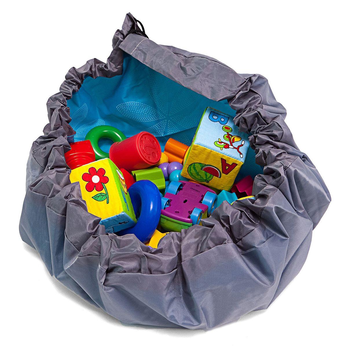 Сумка-коврик Homsu  Лужайка , цвет: голубой, 80х80 см - Подушки, пледы, коврики