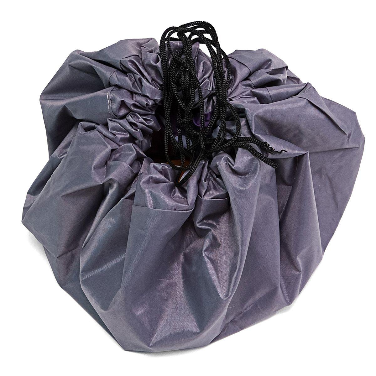 Сумка-коврик Homsu  Лужайка , цвет: фиолетовый, 80х80 см - Подушки, пледы, коврики