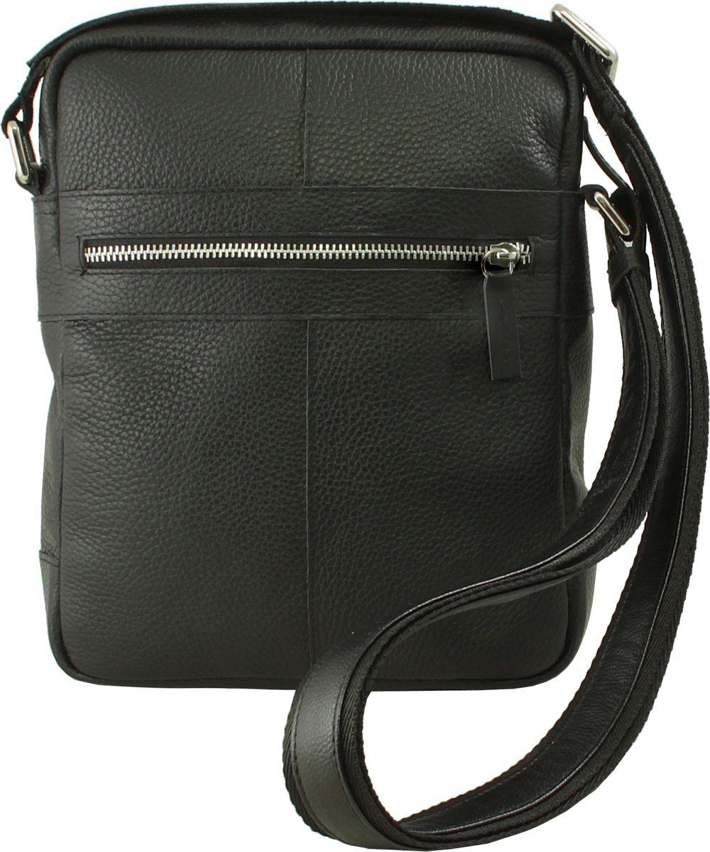Сумка-планшет мужская Dimanche Поло, цвет: черный. 879/100FBM8434-58AEСтильная сумка-планшет Dimanche выполнена из высококачественной натуральной кожи и закрывается с помощью застежки-молнии. На лицевой стороне расположен вшитый карман на молнии.Изделие оснащено удобным плечевым ремнем, длина которого регулируется с помощью пряжки. Внутри расположено главное вместительное отделение.