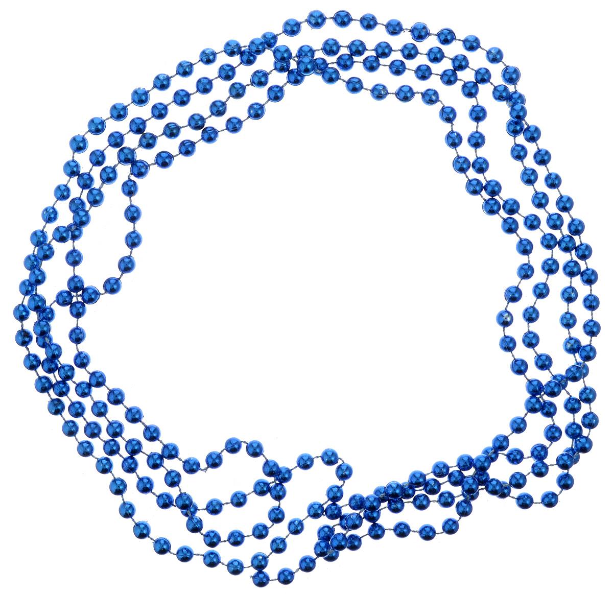 Украшение новогоднее B&H Бусы, цвет: синий, 2,5 мCHL-500DRНовогоднее украшение B&H Бусы, изготовленное из высококачественного пластика, прекрасно подойдет для декора дома или новогодней ели. Такие бусы создадут сказочную атмосферу и подарят ощущение праздника. Откройте для себя удивительный мир сказок. Почувствуйте волшебные минуты ожидания праздника, создайте новогоднее настроение вашим родным и близким.