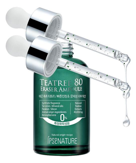Ipse Сыворотка, выравнивающая цвет кожи с чайным деревом, 50 грFS-00897Содержит натуральный экстракт чайного дерева (80%), успокаивает и совершенствует проблемную кожу. Натуральные ингредиенты выравнивают и улучшают цвет лица, обеспечивают глубокое очищение и увлажнение кожи. Содержит экстракт центеллы азиатской, которая предотвращает повторное появление повреждений на коже.