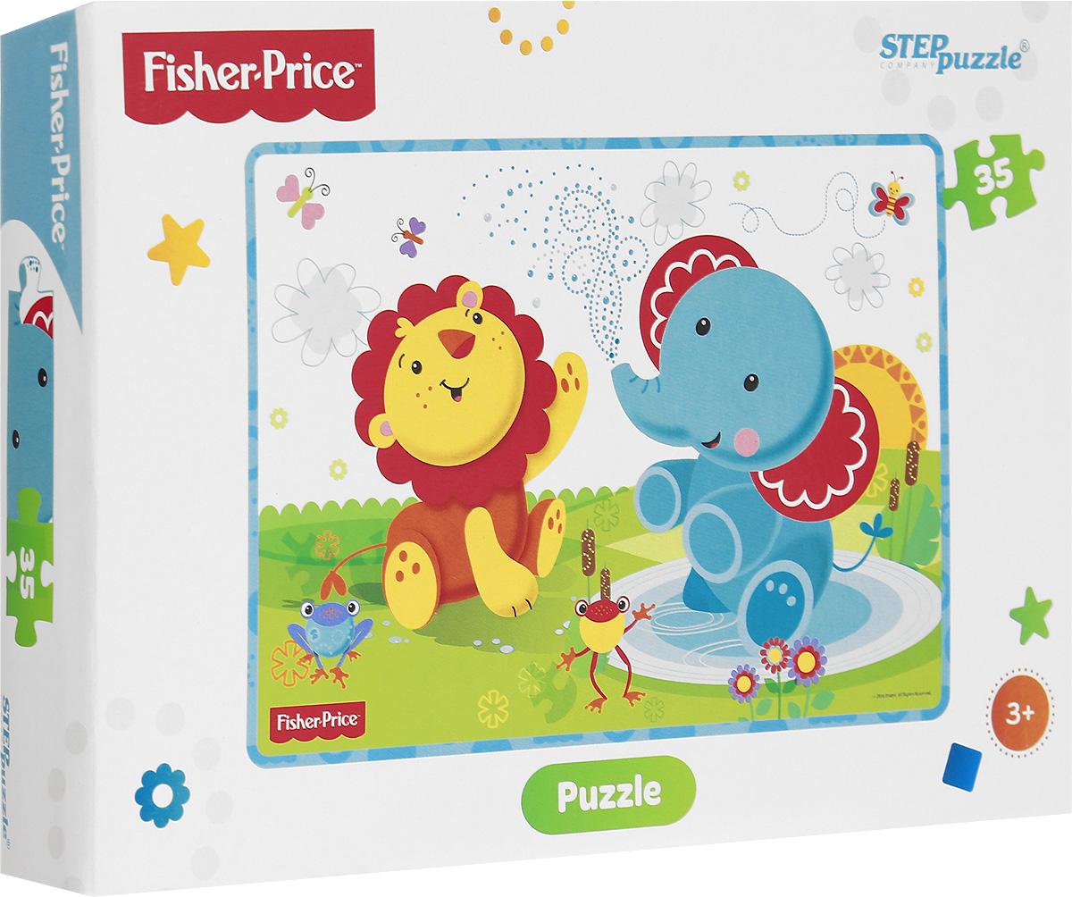 Step Puzzle Пазл для малышей Fisher Price 91148 step puzzle пазл для малышей fisher price 91224