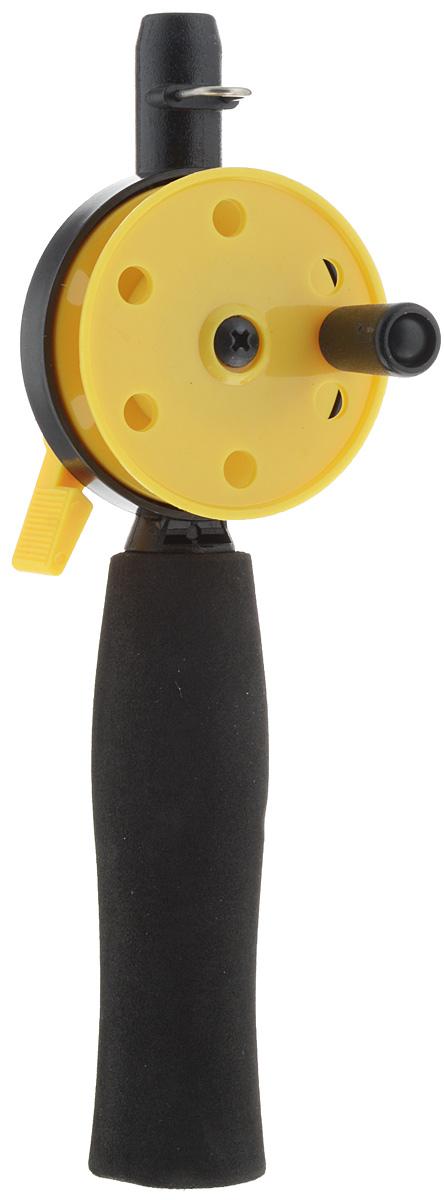 Удочка зимняя Asseri, без шестика, диаметр 54 мм207-00300Удочка Asseri подойдет для зимней ловли. Основа изготовлена из износостойкого пластика, который устойчив к морозам. Такая конструкция будет отлично служить вам долгие годы. Вспененный полимер, которым покрыта рукоятка, придает ей устойчивость к влаге и блокирует скольжение в руке. Удочка оснащена клавишным стопором.Шестик не входит в комплект.Диаметр катушки: 54 мм.Длина удочки: 18 см.
