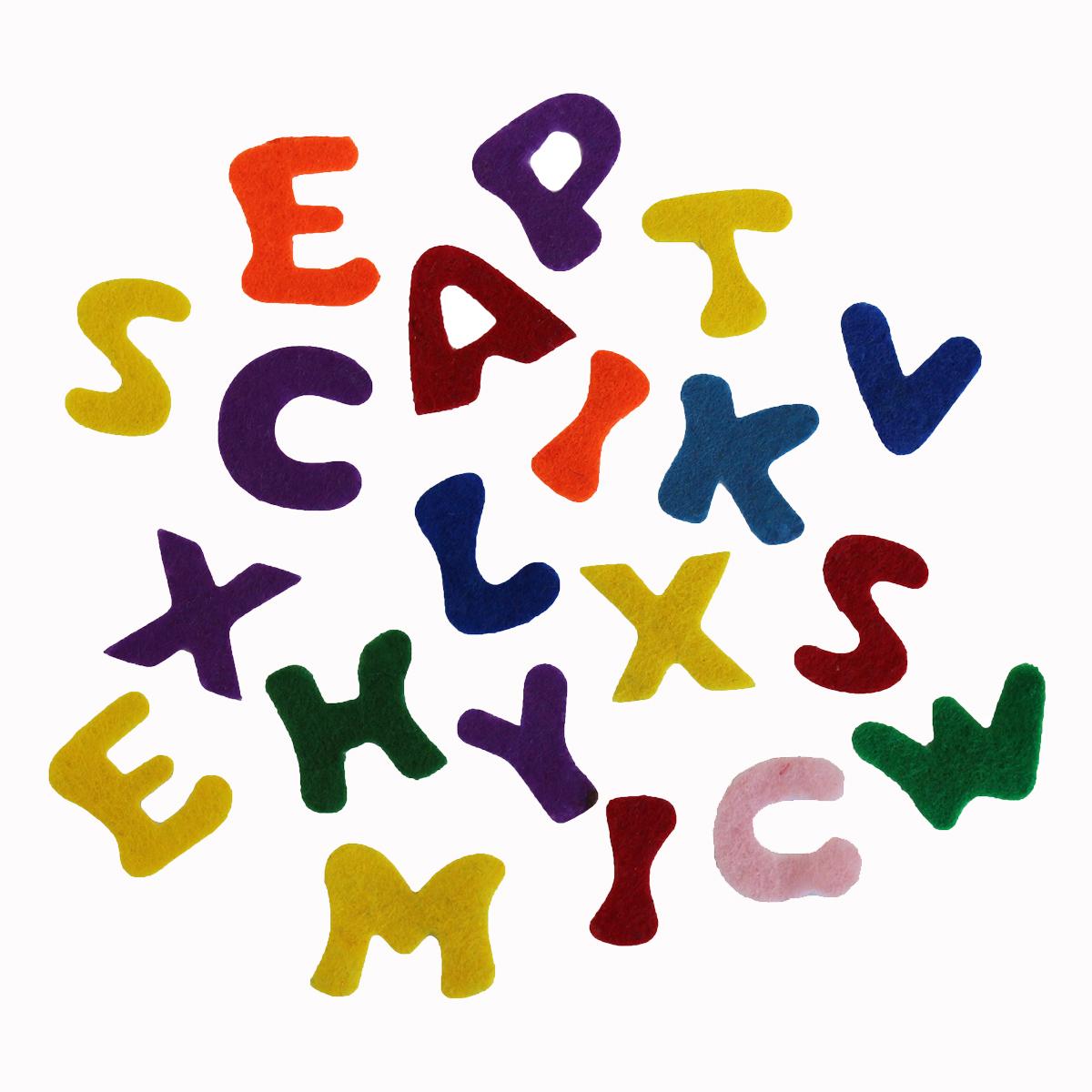 Фетр для творчества Glorex Буквы, 150 штK100Фетр для творчества Glorex Буквы изготовлен из 100% полиэстера. Фетр является отличным материалом для декора и флористики. Используется для изготовления открыток ручной работы и скрап-страничек, для созданиябижутерии и многого другого.