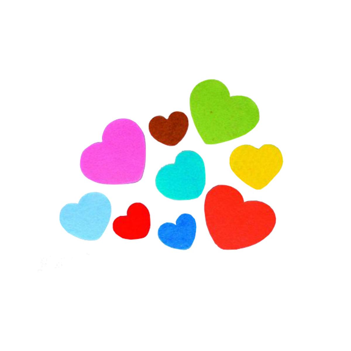 Фетр для творчества Glorex Сердце, 80 штNLED-454-9W-BKФетр для творчества Glorex Сердце изготовлен из 100% полиэстера. Фетр является отличным материалом для декора и флористики. Используется для изготовления открыток ручной работы и скрап-страничек, для созданиябижутерии и многого другого.