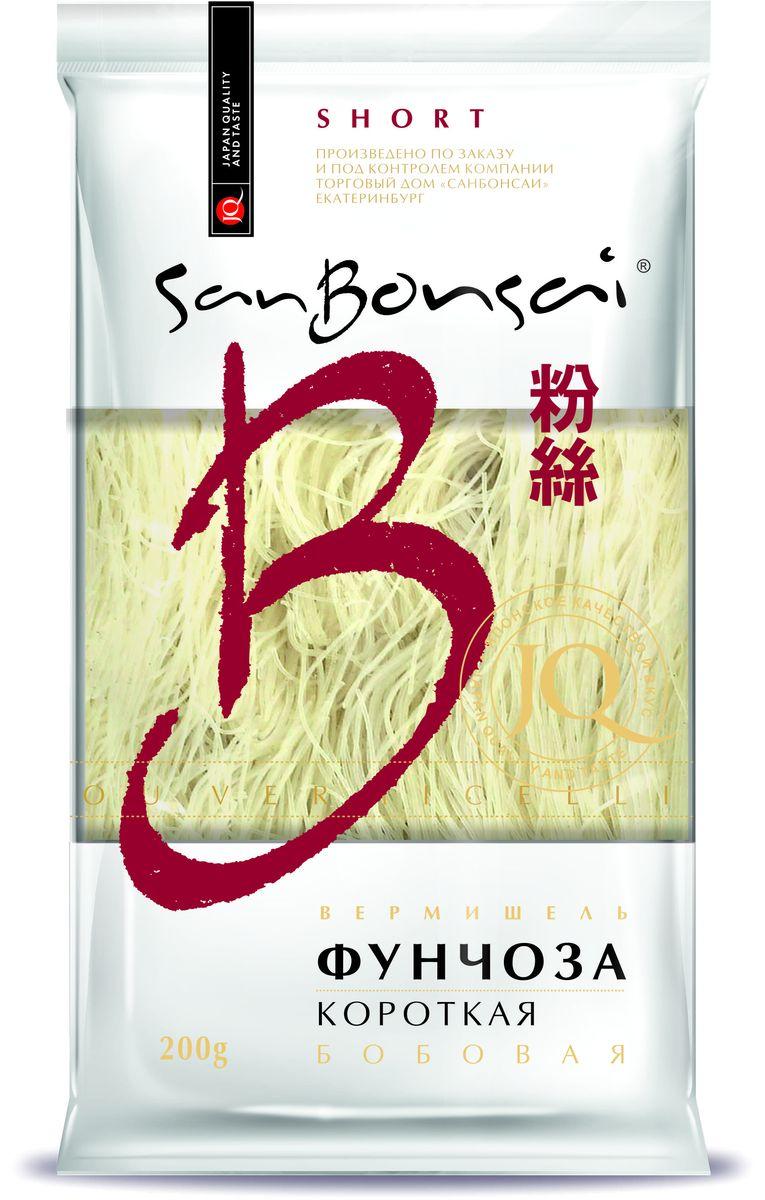 SanBonsai вермишель бобовая фунчоза короткая, 200 г0120710Эти короткие макароны подойдут для приготовления десятка различных блюд, которые так любит ваша семья!