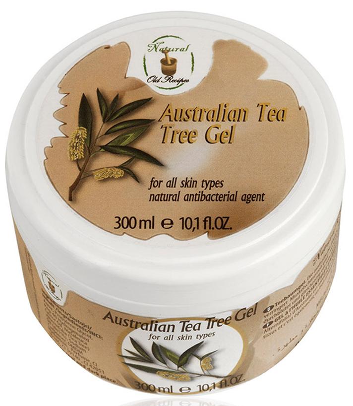 Old Recipes Гель антибактериальный для ног и рук при посещении общественных мест занятий спортом и отдыха с австралийским чайным деревом, 300МЛFS-00897100% натуральная косметика. Австралийское чайное дерево - природный антисептик, усиливает периферическое кровообращение. Этот гель является натуральным противомикробным средством, которое убивает широкий спектр грамположительных и грамотрицательных бактерий, а также грибки, плесень и вирусы. Это очень эффективное средство против бета-гемолитического стрептококка, стафилококка Аурес, стрептококка пневмонии, синегнойной палочки, а также грибков: некоторых видов группы Кандида и Аспергилла Нигер. Использование геля - это превентивная защита кожи и слизистых оболочек против бактериальных инфекций и грибковых инфекций. Особенно рекомендуется при посещении общественных бассейнов, саун, спа-центров, а также при пребывании в больничных учреждениях. Также гель рекомендуется применять путешественникам и деловым людям, использующим средства общественного транспорта (самолеты, автобусы или поезда). Не является лекарственным препаратом.