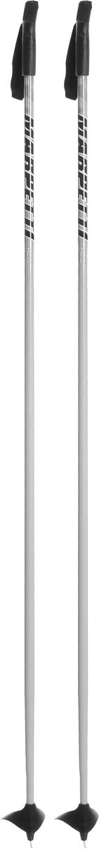 Палки для беговых лыж Marpetti, длина 165 см338438-105Спортивные палки Marpetti - это превосходный выбор для любителей активного катания на лыжах. Модель выполнена из легкого алюминия. Пластиковая рукоятка имеет удобный хват, благодаря которому рука не мерзнет и не скользит. Гоночный темляк удобно надевается и надежно поддерживает кисть. Большая гоночная лапка с твердосплавным наконечником не проваливается в снег.Спортивные палки подойдут как начинающим лыжникам, так и опытным спортсменам.