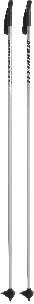 Палки для беговых лыж Marpetti, длина 160 см338438-130Спортивные палки Marpetti - это превосходный выбор для любителей активного катания на лыжах. Модель выполнена из легкого алюминия. Пластиковая рукоятка имеет удобный хват, благодаря которому рука не мерзнет и не скользит. Гоночный темляк удобно надевается и надежно поддерживает кисть. Большая гоночная лапка с твердосплавным наконечником не проваливается в снег.Спортивные палки подойдут как начинающим лыжникам, так и опытным спортсменам.