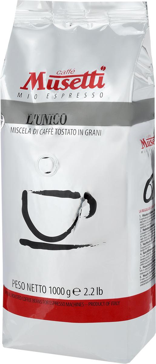 Musetti LUnico кофе в зернах, 1 кг0120710Кофе в зернах Musetti LUnico обладает ярким букетом с освежающими цитрусовыми нотами. Раздельная обжарка лучших сортов арабики подчеркивает кислинку и характерные ноты красных фруктов в аромате.
