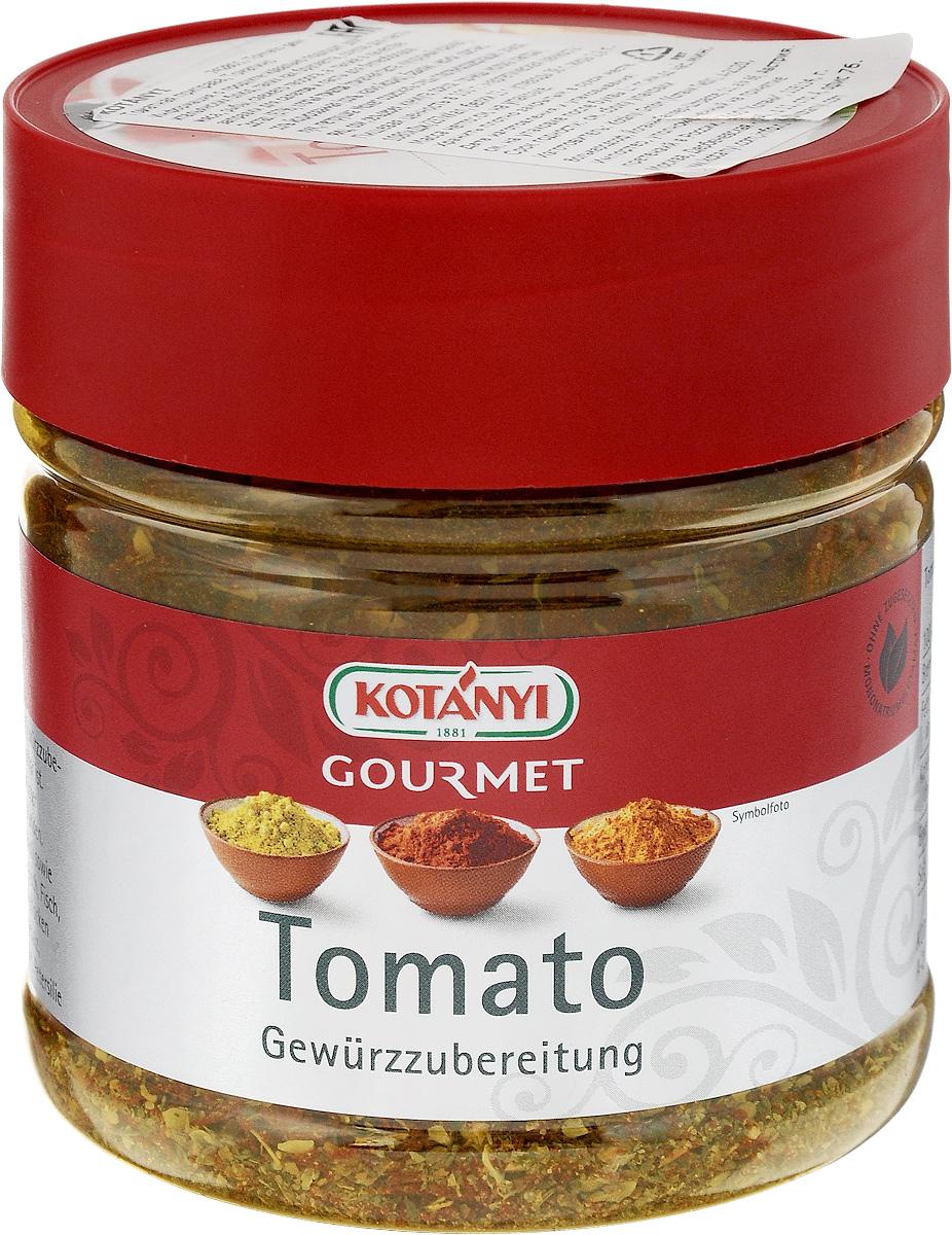 Kotanyi Томатная приправа Томатино, 150 г0120710Томатная приправа Kotanyi Томатино идеально подходит для итальянских блюд, таких как брускетта, соусов для пасты, мяса, рыбы, свежего творога, а также в качестве заправки для салатов и пасты для бутербродов.Уважаемые клиенты! Обращаем ваше внимание, что полный перечень состава продукта представлен на дополнительном изображении.