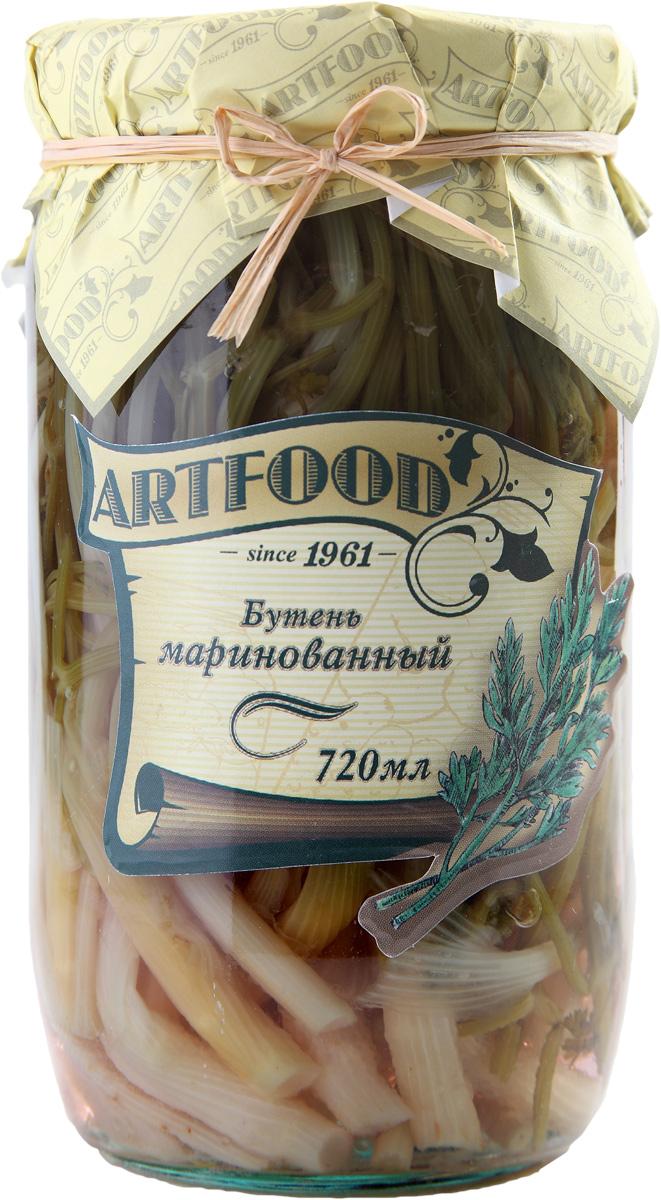 Artfood бутень маринованный, 720 мл0120710Компания Артфудбыла основана в 1995 г на базе Арташатского Консервного Завода и на сегодняшний день является одной из крупнейших компаний в Армении и имеет доминирующие позиции в сфере консервированной продукции. Не содержит консервантов, искусственных ароматизаторов и красителей.