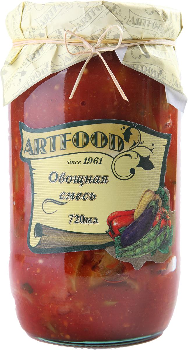 Artfood овощная смесь, 720 мл651Компания Артфудбыла основана в 1995 г на базе Арташатского Консервного Завода и на сегодняшний день является одной из крупнейших компаний в Армении и имеет доминирующие позиции в сфере консервированной продукции. Не содержит консервантов, искусственных ароматизаторов и красителей.