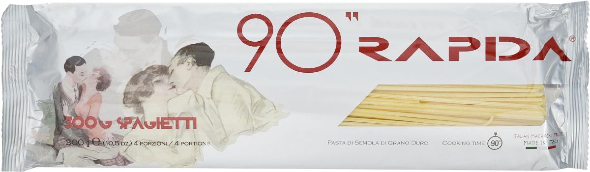 Rustichella паста Спагетти 90 секунд, 300 г0120710Rustichella Спагетти 90 секунд - итальянская паста, которая производится исключительно из твердых сортов пшеницы. Благодаря низкому содержанию крахмала и высокому содержанию клейковины такие макаронные изделия не развариваются и становятся блестящими и упругими. Спагетти 90 секунд - инновационный продукт, который создан по уникальной технологии, позволяющей приготовить спагетти с идеальной консистенцией всего за полторы минуты. Rustichella - итальянская фирма, специализирующаяся на производстве макаронных изделий из твердых сортов пшеницы. Для изготовления макарон используется отборная пшеничная мука, замешанная с чистой горной водой, что придает макаронным изделиям уникальную консистенцию и вкус, который не сравнится ни с чем.