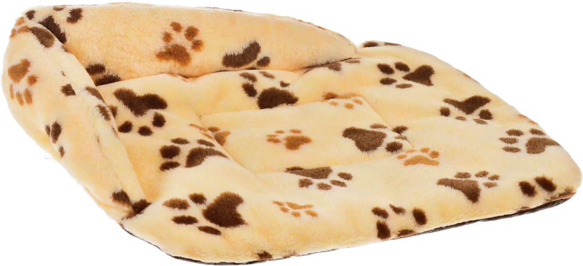Лежак для животных Elite Valley Софа, цвет: желтый, коричневый, 46 х 33 х 11 см. Л-6/10120710Лежак для животных Elite Valley Софа изготовлен из искусственного меха, наполнитель - холлофайбер. Он станет излюбленным местом вашего питомца, подарит ему спокойный и комфортный сон, а также убережет вашу мебель от многочисленной шерсти. На таком лежаке вашему любимцу будет мягко и тепло.